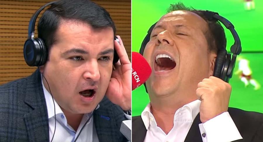 Carlos Morlaes y Javier Fernández