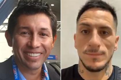 Jorge Bermúdez y Pablo Migliore