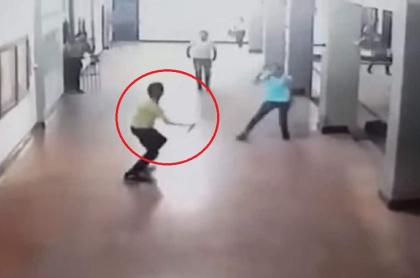 Estudiante agresor