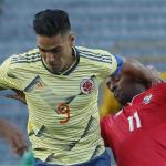 Selección Colombia ante Panamá, Falcao