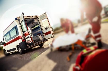 Resultado de imagen para ambulancia peaje colombia