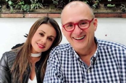 Gineth Fuentes y Jota Mario Valencia