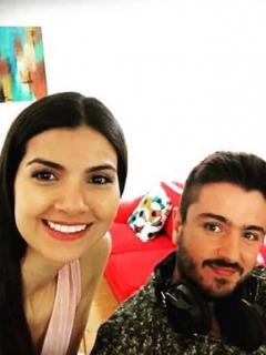 Juliana Moreno, Mike Moreno y Andrés Sandoval.