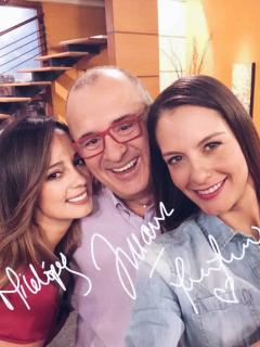 Milena, Jota Marío y Laura