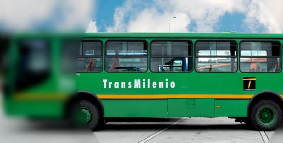 Bus alimentador de Transmilenio