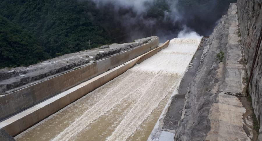 Vertedero de Hidroituango