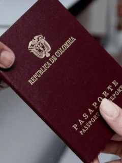 Pasaporte de Colombia
