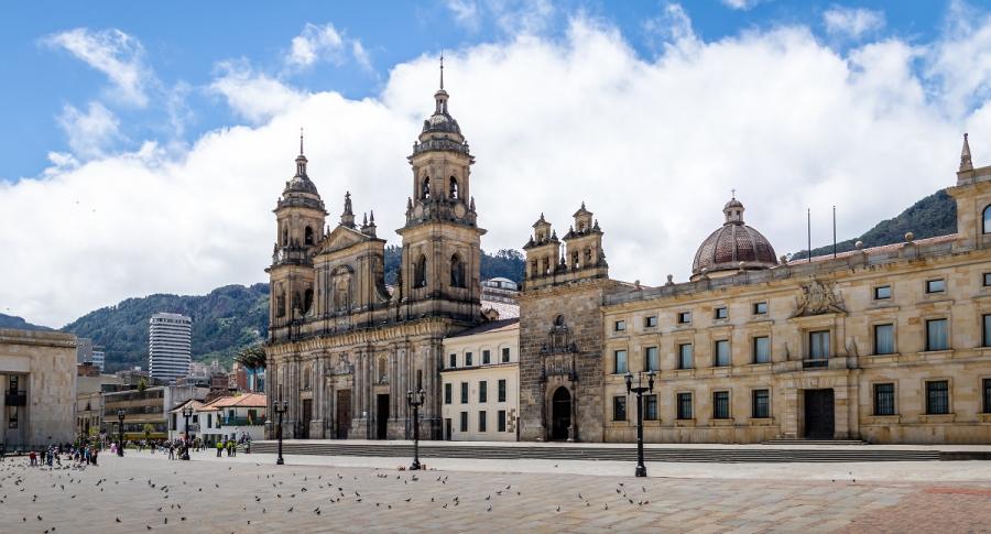 Plaza de Bolívar Bogotá.