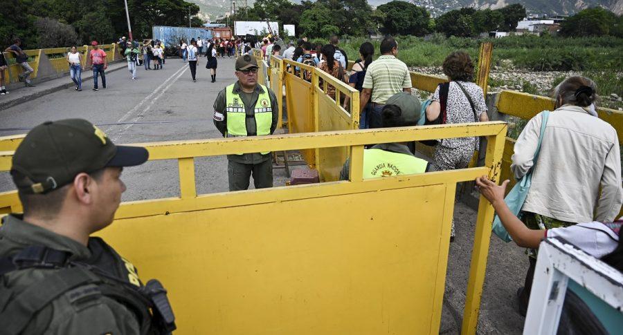 Frontera Colombia con Venezuela.