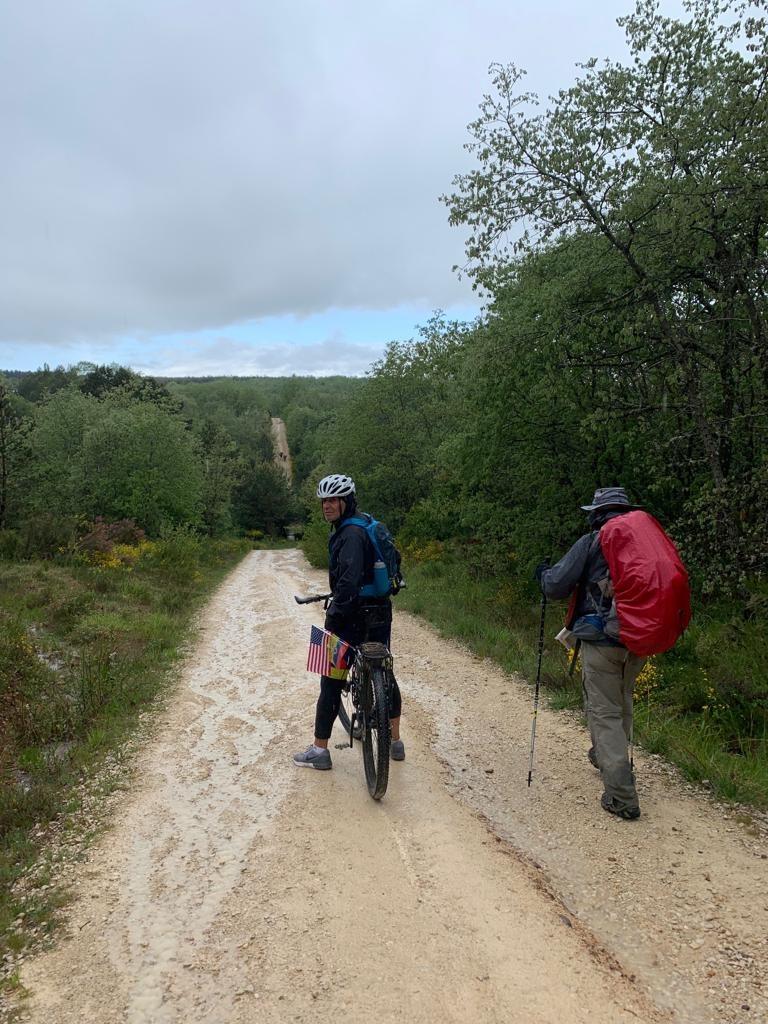 Ascenso en el Camino a Santiago