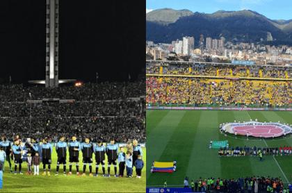 Uruguay-Panamá/Colombia-Panamá