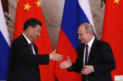 Xi Jinping y Bladimir Putin