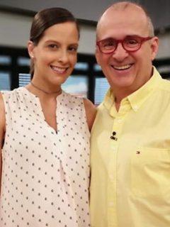 Laura Acuña y Jota Mario