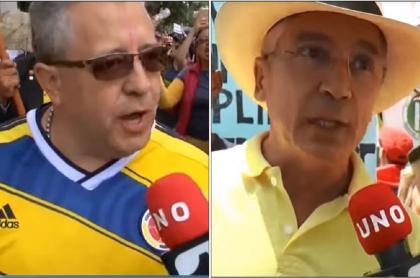 Miguel Ángel Veira y Jorge Osorio