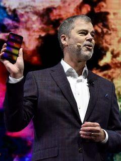 David VanderWaal, vicepresidente de mercadotecnia de LG Electronics USA
