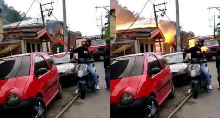 Explosión en Antioquia