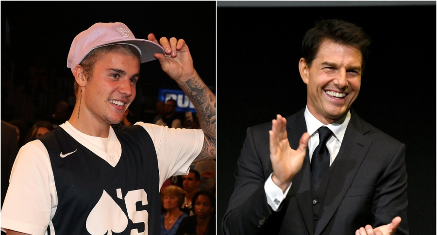 Justin Bieber / Tom Cruise