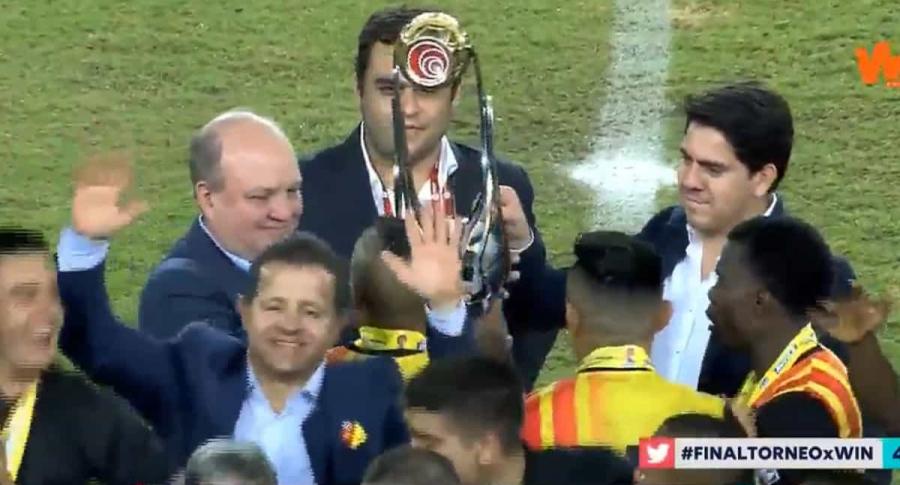 Pereira campeón de la B
