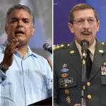 Iván Duque y general Nicacio Martínez