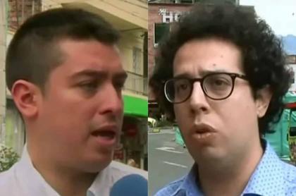 Daniel Porras y Alejandro Matta