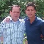 Gustavo Castro y su hijo Danny Castro