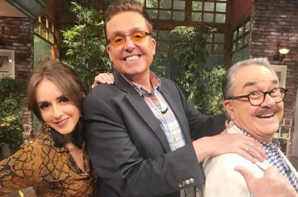 Jimena Pérez, Daniel Bisogno y Pedro Sola