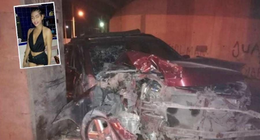 Accidente en Santa Marta