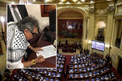 'Jesús Santrich' y Congreso
