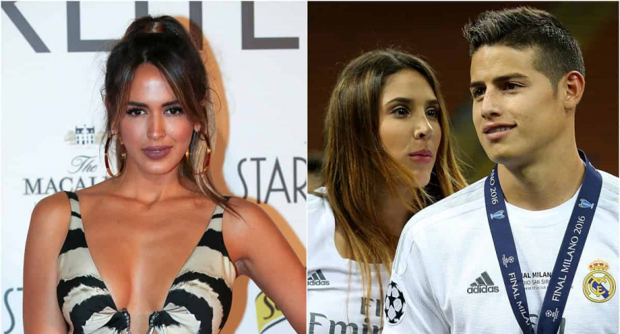 Shannon de Lima / Daniela Ospina y James Rodríguez