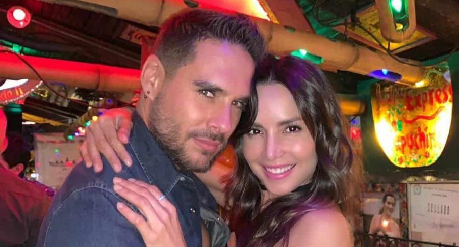Sebastián Caicedo y Carmen Villalobos