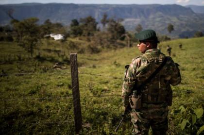 Soldado Ejército Colombia