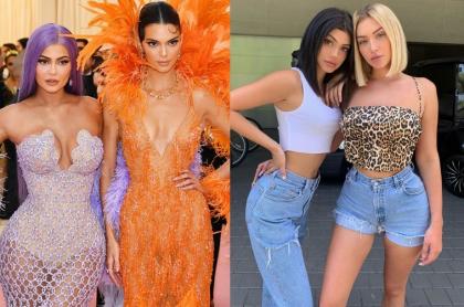Kylie Jenner, Kendall Jenner y Kelsey Calemine