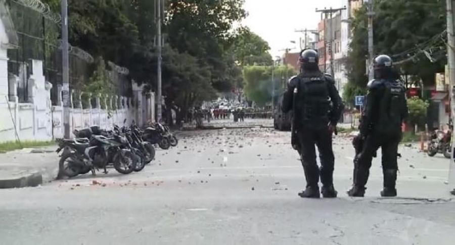 Disturbios en la Pedagógica