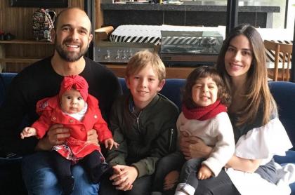 Andrés Vasco, Alma, Pedro, Jerónimo y Manuela González