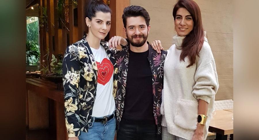 Carolina Cruz, Malejo Cangrejo y Andrea Serna
