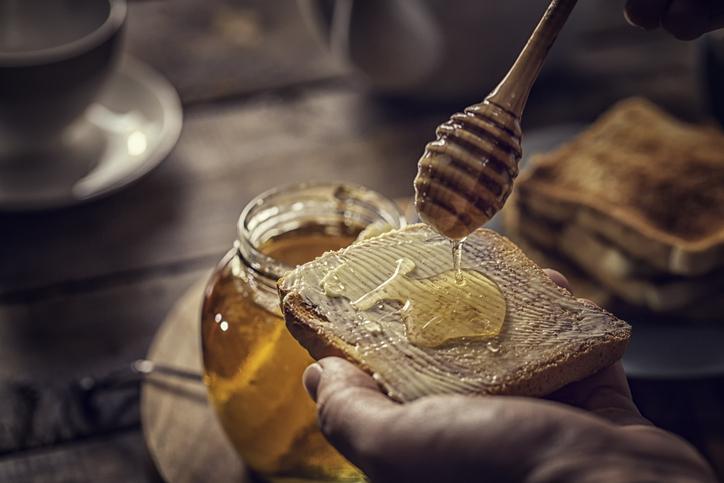 Consumo de miel