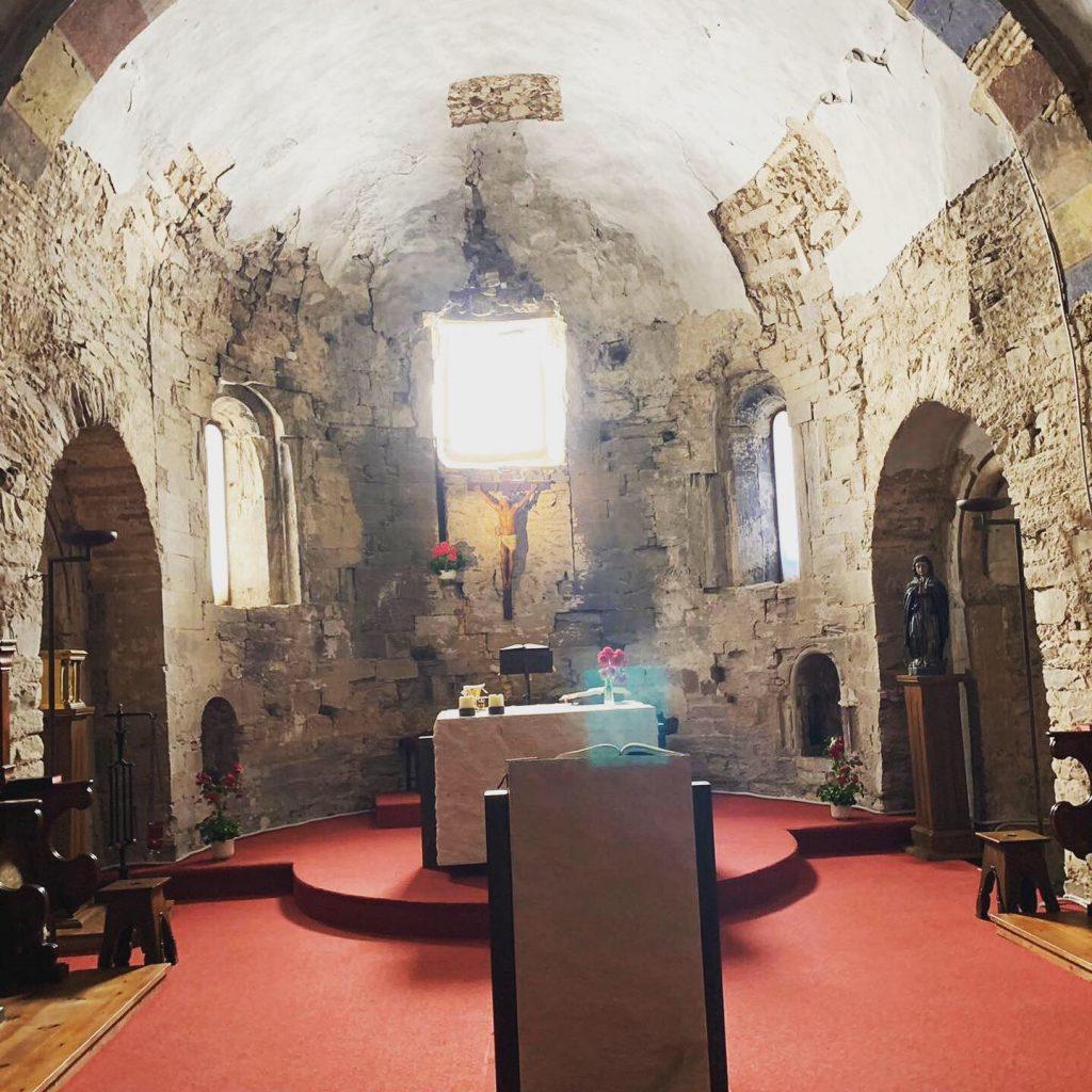 Iglesia del Monasterio de San Salvador de Monte Irago