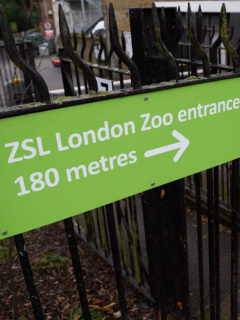 Entrada Zoológico de Londres