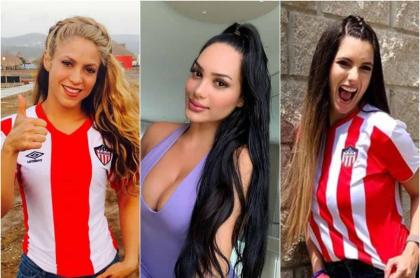 Shakira, Andrea Valdiri, Daniella Donado
