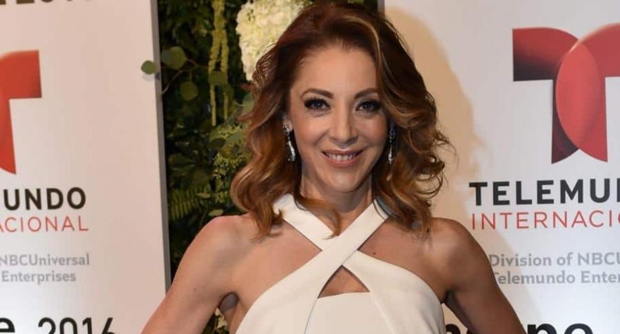 Edith González, actriz mexicana.