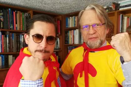 'Juanpis' González y Antanas Mockus