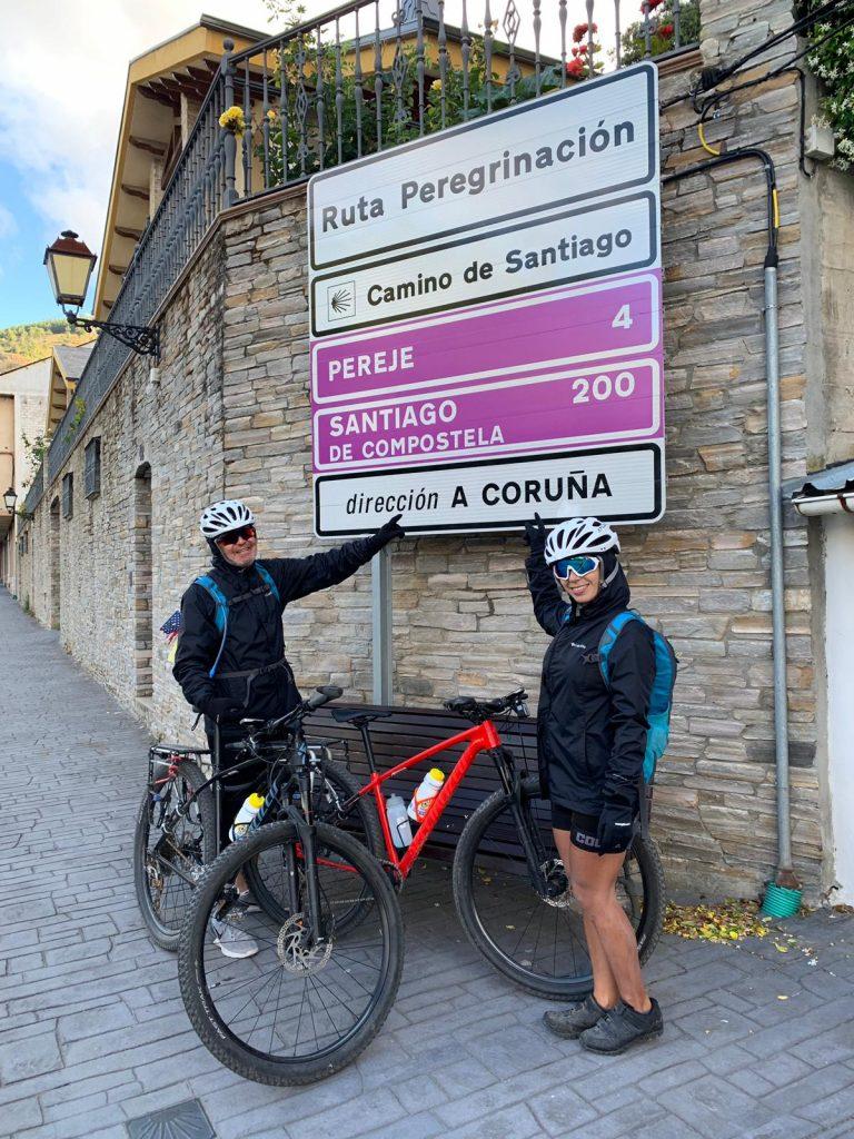 200 km para Santiago de Compostela