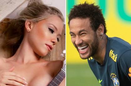 Najila Trinidade  y Neymar