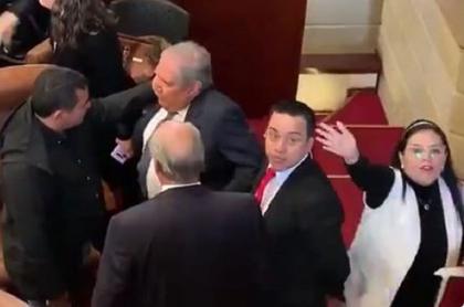Guillermo Botero en la Cámara