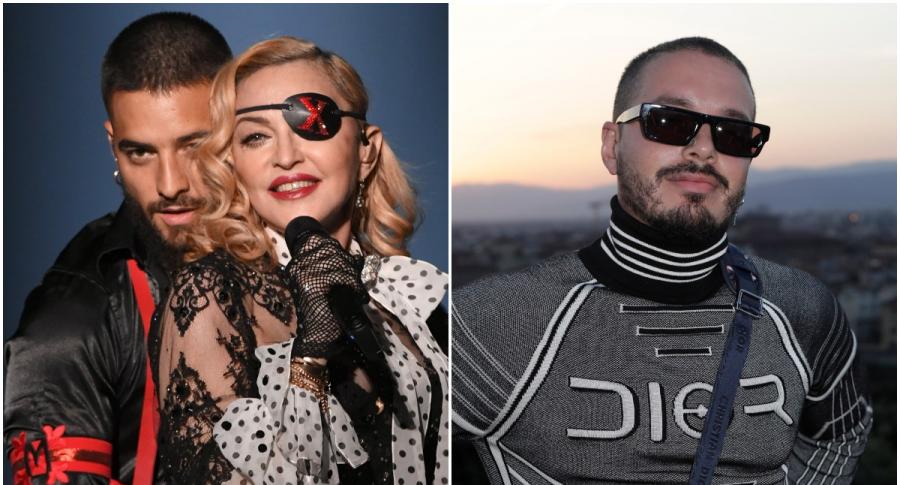 Maluma y Madonna / J Balvin
