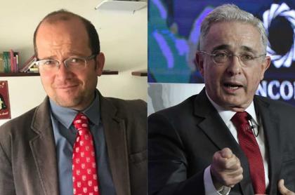 Daniel Samper Ospina y Álvaro Uribe vélez