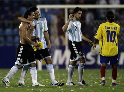 Argentina vs Colombia 2007