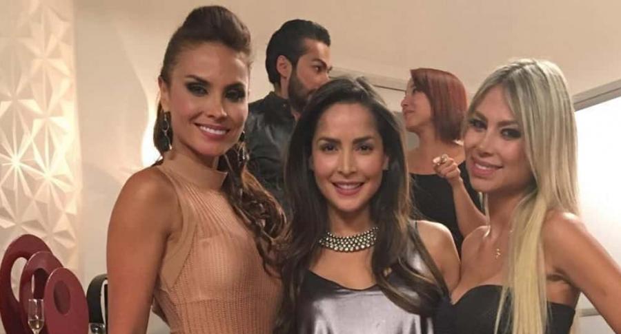 Carolina Sepúlveda, Carmen Villalobos, Alejandra Pizón, Majida Issa y Fabián Ríos, actores.