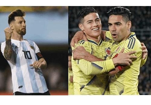 Selección de Argentina-Selección Colombia