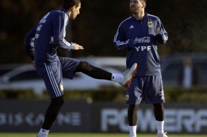Lionel Messi y Ángel Di María